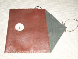Leather iPad Tablet Case by x-Vertigoa-x