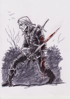 Witcher wounded by OFFO