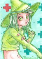 ACEO - Tamafune by Jellymii