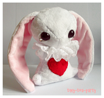 The White Rabbit - Teacup Bunny Commission by tiny-tea-party