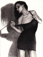 little black dress by DrawingsByTony