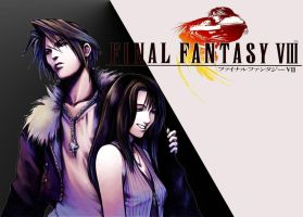 Squall and Riona by kyo4455