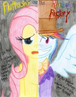 Fluttershy and the Rainbow Factory by The1King