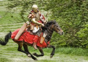 Rider Late Roman by Fall3NAiRBoRnE