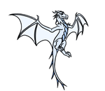 Flying Ice Dragon Gif by irajiack