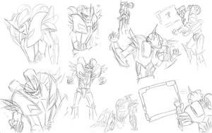 KO Sketch Dump by spiketail94