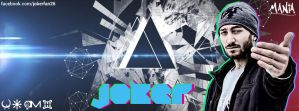 Joker Facebook Cover by ManiaGraphic