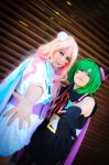 White and Brownie Bunny - Macross Frontier by Yushu-Eien