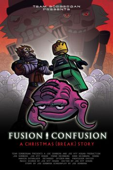 Fusion Confusion Teaser Poster by JoeHoganArt