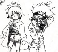 Kakashi and Anko by KickBass77