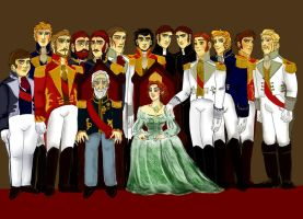 The royal family of the Southern Isles by lisuli79