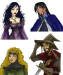 Mages Guild Characters by carrinth