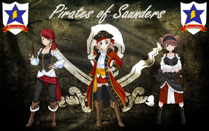 Pirates of Saunders by mirage2000