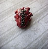 Stitched Up Heart by KatGore