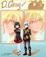 DGM : Allen and Lenalee by Regoli