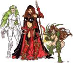 Babes of Top Cow by CrimsonArtz