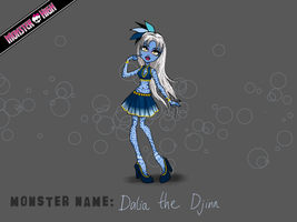 Dalia the Djinn by Fellstar59