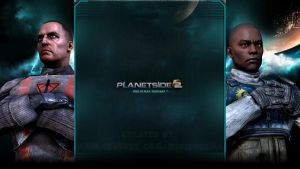 TR / NC - Planetside 2 - YouTube Background by MiniDudeMD