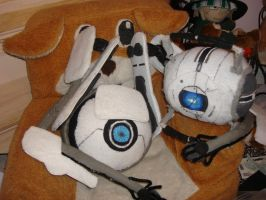 Unfinished Atlas and Wheatley by Gubreez
