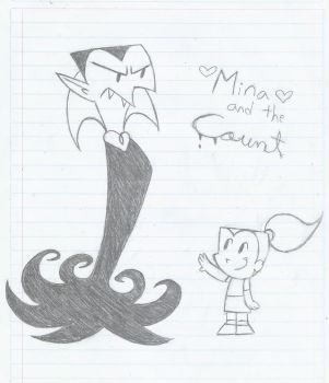 Mina and the Count (old sketch) by MileenaKoopa