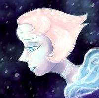 Pearl in the Snow by GingerFoxy