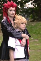 Careful Roxas by ShadowFox-Cosplay