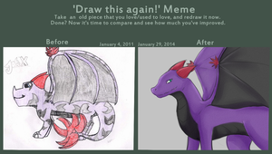 Draw this again meme 2011-2014 by Reruuu