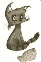 Attitude kitty by mortonflies