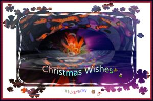 Christmas Wishes for all Queens and Kings here by mickeyrony