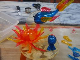 Colorful Sugar Showpiece by Jifmona