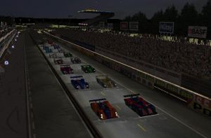 Le Mans at Night by Jonny683