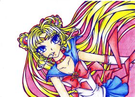 Sailor Moon by DarkSpirit16