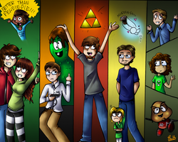 Youtubers by Rainpaw7