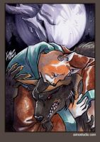 PSC - The Werewolf and Ahnassi by aimo