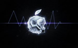 K: Apple Wolf + Speed Paint by Snow-Body