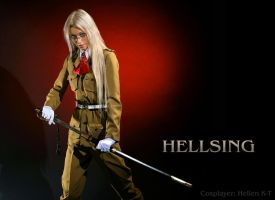 lady Integral Hellsing by Hellen-K-T