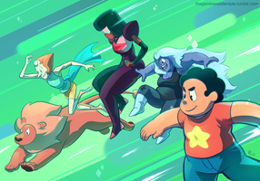 Steven's Bizarre Adventure by Rhandi-Mask