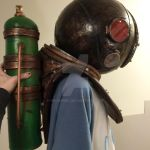 eleanor lamb bioshock tank side view cosplay by nikianime