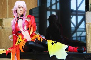 Inori Yuzuriha from guilty Crown by RuffleButtCosplay