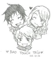 Bad Touch Trio - Overflowing Passion by Roello-G