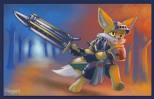 Vangard - Little Fox Knight by 7THeaven