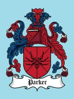 Super Clan Coat of Arms: Parker by mattcantdraw