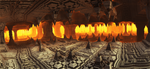 A rain of fire inside the ancient cave by KPEKEP