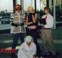 AX08 DeathNote posse by skullmunky