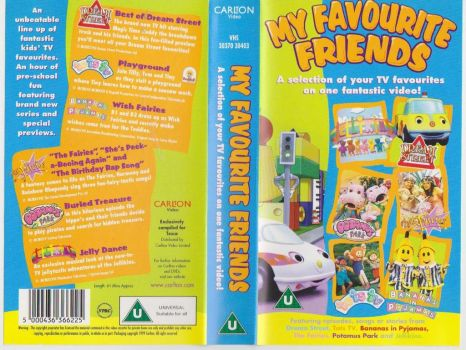 My Favourite Friends VHS Cover by RetroPokeFan