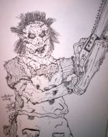 Leatherface by crystalaki