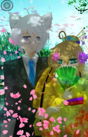 A-F: Shiro and Javen - Pretending to be a couple by EpicKeeper