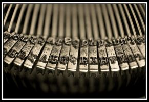 Typewriter by TINTPhotography
