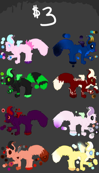 Adoptables by MissDragoness1122