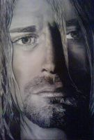 portrait of kurt cobain by D-mQuick